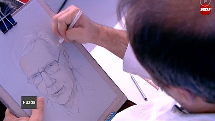 Készülőben Aczél Endre portréja