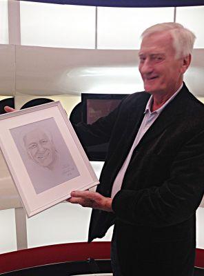 Benkó Sándor zenészlegenda és portréja