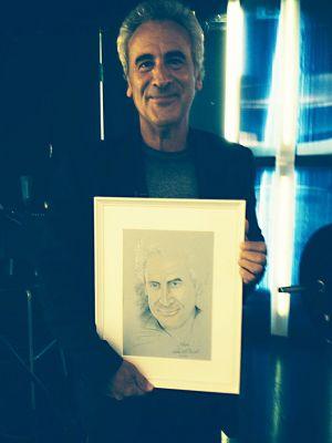 Kepes András újságíró és portréja