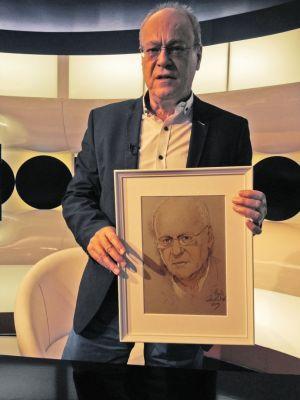 Csepeli György neves szociálpszichológus portréjávál